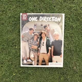 One Direction Behind the Scenes Official Book