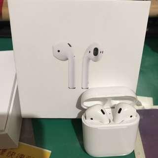 Apple 無線藍芽耳機 AirPods