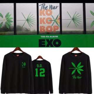 Po Exo The War Pullover