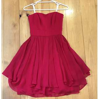 Red Semi Formal Dress (Collection) - Size 8