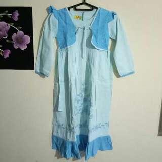 baju muslim anak 4-5th