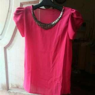 Atasan Pink