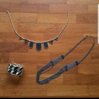 Fashionable Necklace & Bracelet
