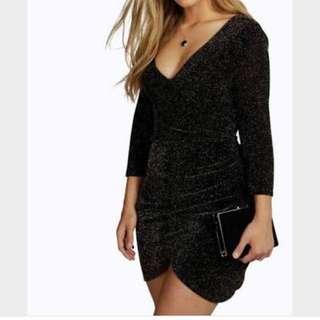 Boohoo glitter Dress - Size 20