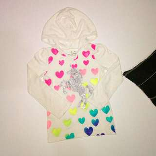 JUMPING BEANS ● Hooded Sweater