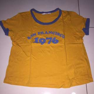 Pull And Bear Crop Top San Fransisco