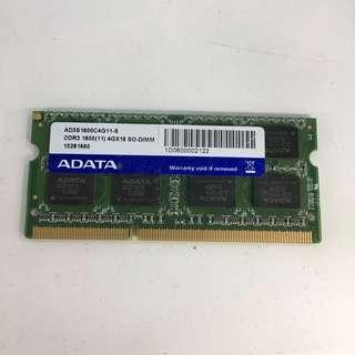 laptop ram ddr3 4gb ADATA