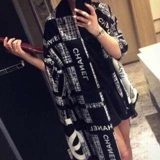 全新轉賣Chanel同款 羊絨 披肩 圍巾