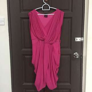 Fuchsia Party Dress