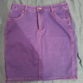 Demin Looking Skirt~SIZE 16
