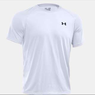 [INSTOCK] UNDER ARMOUR Tech™ Short Sleeve T-Shirt white colour