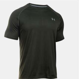 [INSTOCK] UNDER ARMOUR UA Tech™ Men's Short Sleeve Shirt Artillery Green