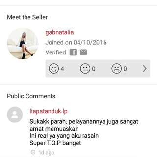 Testimonial From Buyer :)