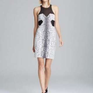 Bec & Bridge - Size 8 - Black and White Cocktail dress