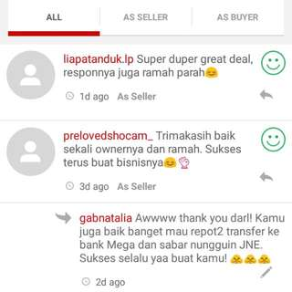 Testimonial From Buyers