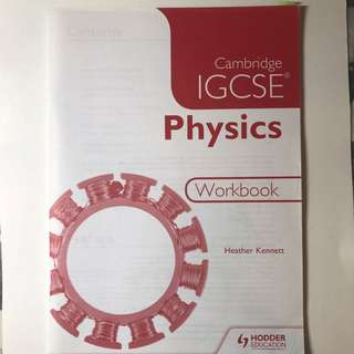 Cambridge IGCSE Physics Work Book