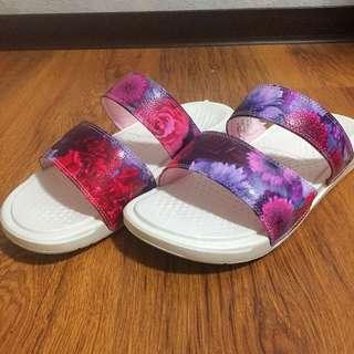美國代回保證正品 ✨ 2017最新款 nike benassi duo ultra slide 花 女 運動 拖鞋