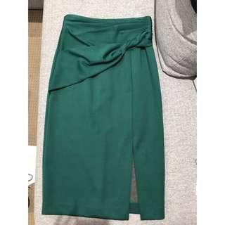 Size 10 - Sheike emerald midi skirt