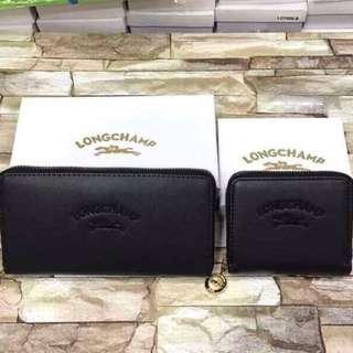 Longchamp Wallet 🖤