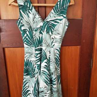 H&M Tropical Summer Dress