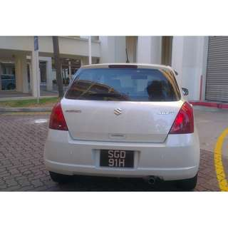Nice & Meaningful Carplate Number For Sale