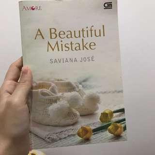 Novel A Beautiful Mistake By Saviana Jose