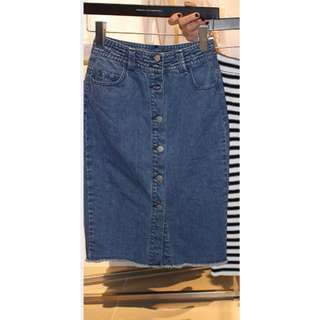French Connection Denim Skirt - Size 10