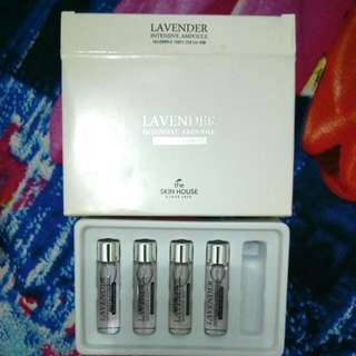 The Skin House Lavender Intensive Ampoule (Recovery&Hydration)