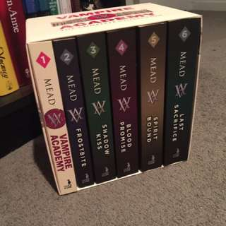 Vampire Academy Complete Book Collection