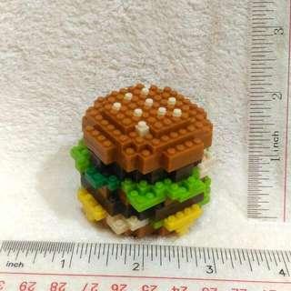 Limited Edition! Lego Inspired McDo Burger (Big Mac) toy