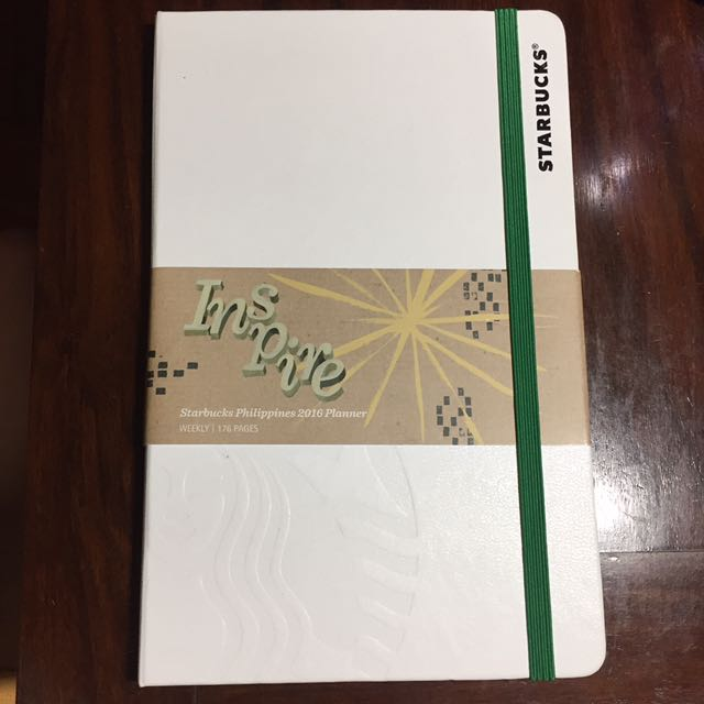 2016 Starbucks Moleskin Planner / Notebook