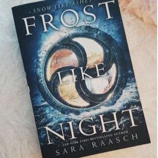 Brand New - Frost Like Night by Sara Raasch