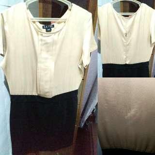 Lavie Two-toned Dress