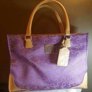 Studio by Diane Von Furstenberg Laptop/business bag (purple)