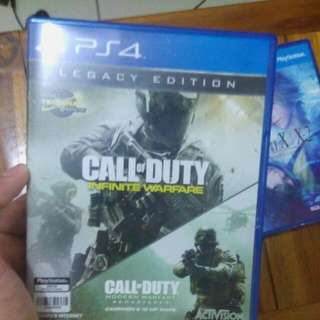 [NEGOTIABLE]Call Of Duty: Infinite Warfare Legacy Edition With COD: Advanced Warfare Remastered