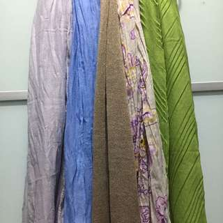Crumple/Ironless Shawl/Hijab For Travellers