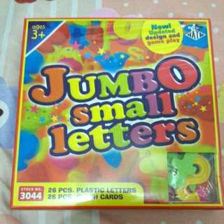Small Letters Educational Toy
