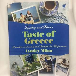 Lyndey And Blair's Taste Of Greece Recipe Book SBS