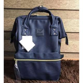 59c818e177 Anello Leather Backpack Large