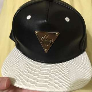 Hater SnapBack Snakeskin Leather