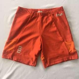 Fila High waist Biycle Shorts