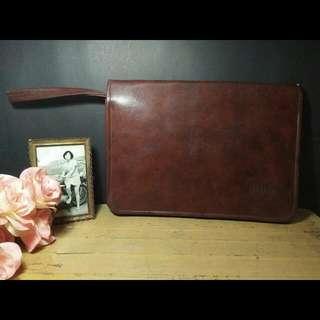 Vintage Handbag / Briefcase ALBA, Japan