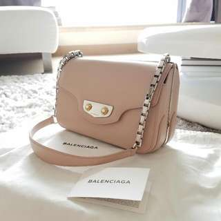 Balenciaga 粉色小手袋