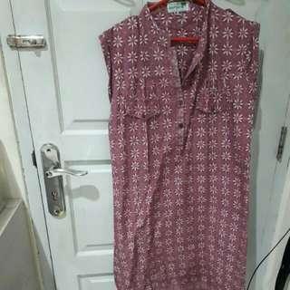 Sack Dress Batik