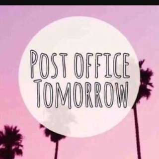 Post Office Tomorrow -  Check Out My Stuff!!