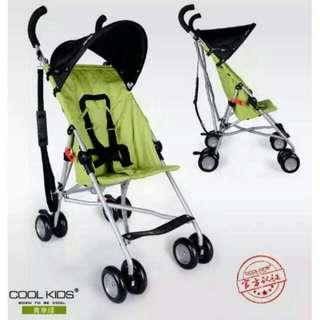 正品日本 cool kids推車 輕便只有2.8公斤 嬰兒便攜傘車嬰兒推車 折疊傘車 出國出遊超輕便 小孩出遊的好幫手