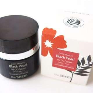 The Saem Black Pearl CC Cream SPF 50 +++  30ml