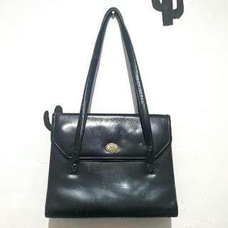 SALE Black Vintage Bag