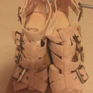 Playlord 粉紅色涼鞋37碼