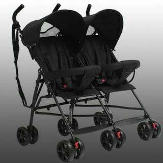 Bello 雙胞胎推車 現貨免等 傘車 雙人推車雙人傘車 大小寶二胎雙寶嬰兒推車 輕便出遊